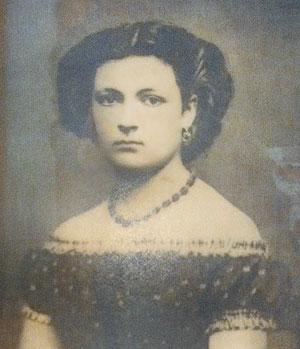 Ellen Jenner Worthington pictured at age 18