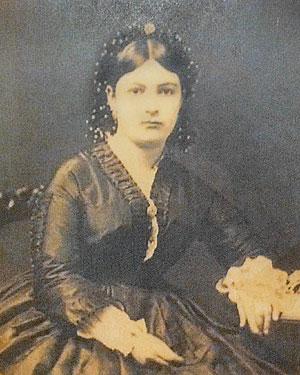 Ellen Jenner Wothington, circa 1870