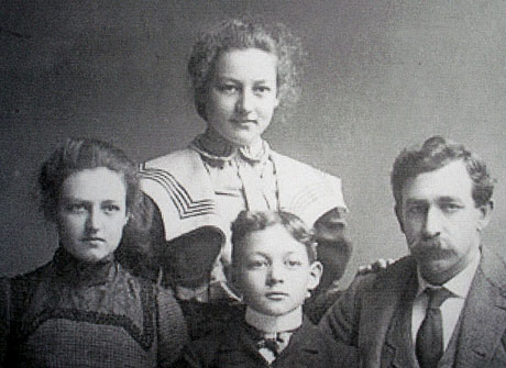 Millard Fillmore Hamilton and Family