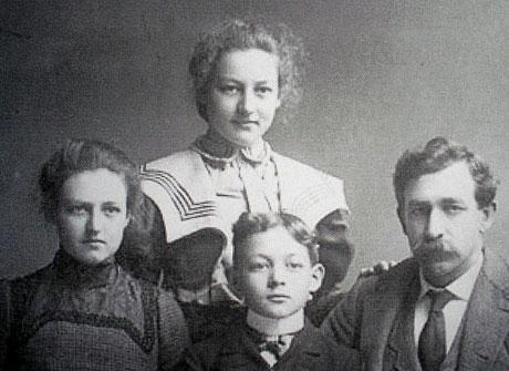 Millard Fillmore Hamilton and Family